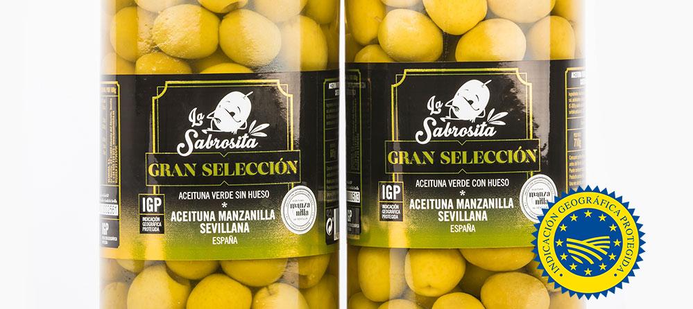 La Sabrosita IGP | Spaniens erste Premium Oliven | 100% spanische Oliven